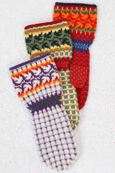 Ivy Mitten Pattern
