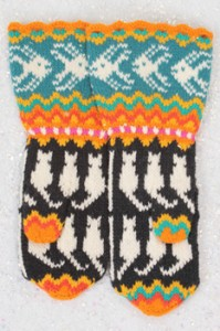 Making Waves Mitten Pattern