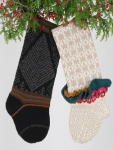 view Judy's Colors Christmas stocking patterns