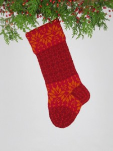 Santa's Socks, Red