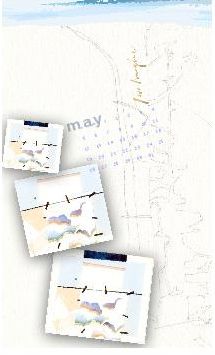 May 2013 Two Imagine Wall Calendar