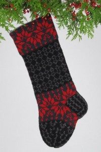 Santa's Socks, black